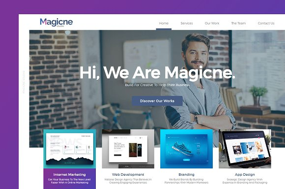 Magicne Business HTML
