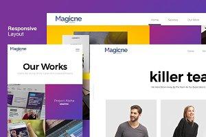Magicne - Creative HTML