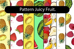 Juicy Fruit - Pattern set