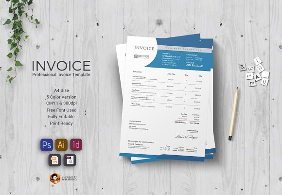 Stylish Invoice Template