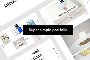 DK / Super simple portfolio