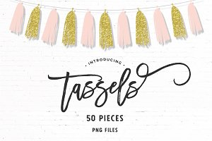 Modern Tassels | 50 Pieces