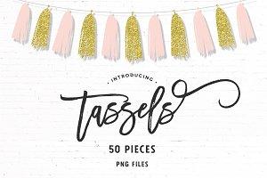 Modern Tassels | 50 Pieces