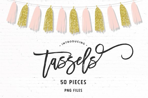 Modern Tassels 50 Pieces