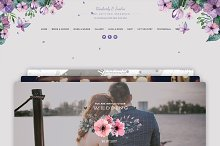 Wedding Card WordPress by  in Wedding