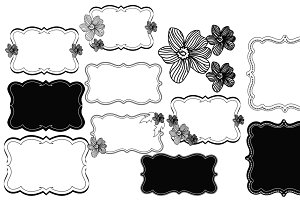 Pretty little notes & Frames Brushes