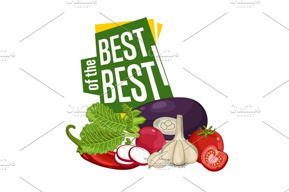 Best Discount Poster With Fresh Vegetable