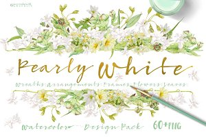 Pearly White-Design Pack