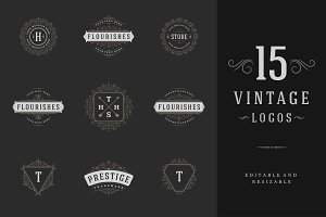 15 ornaments logos & monograms