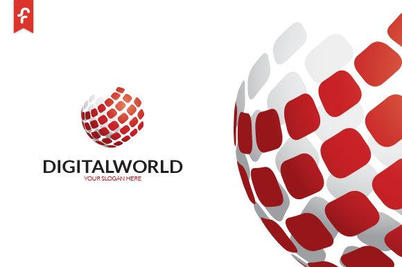 Digital World Logo