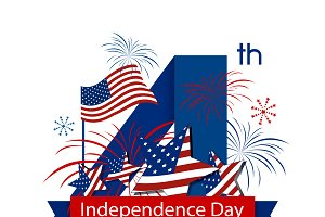 USA 4 july independence day