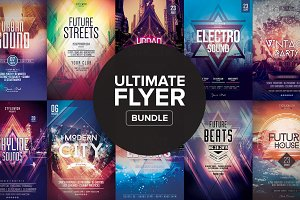 Ultimate Flyer Bundle - 10 posters