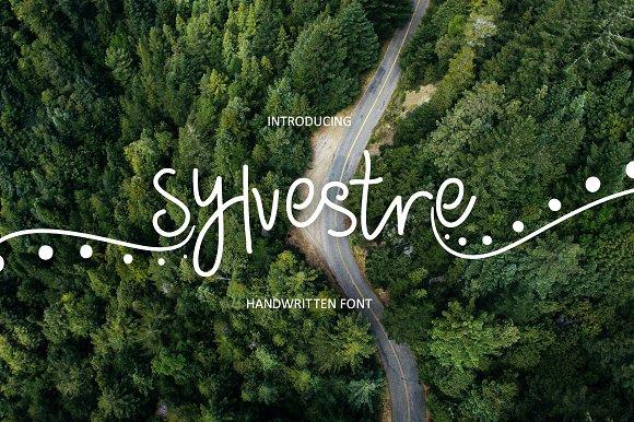 Sylvestre nature handwritten font