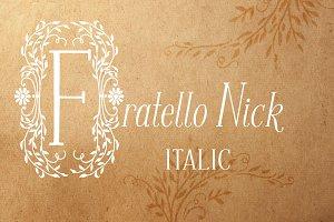 Fratello Nick Italic Font