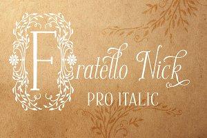 Fratello Nick Pro Italic