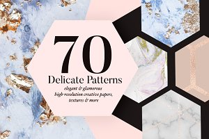 70 Delicate Patterns
