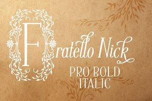 Fratello Nick Pro Bold Italic