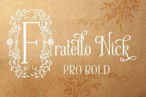 Fratello Nick Pro Bold