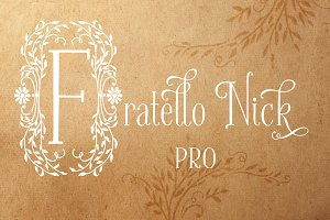 Fratello Nick Pro Font