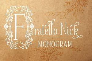 Fratello Nick Monogram