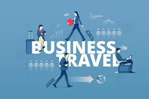 Business travel hero banner