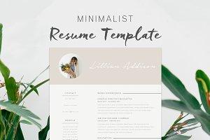Resume Template - Lillian
