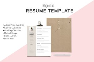 Resume Template - Brittany