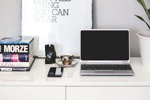 Scandinavian Style Workspace
