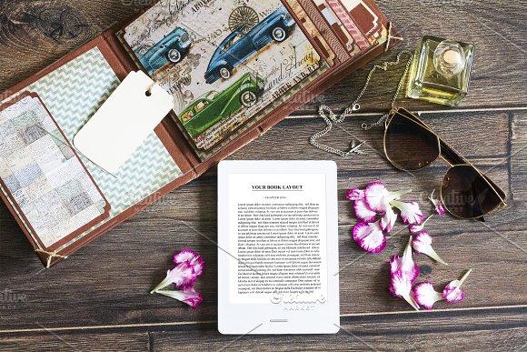 E-Book Reader Mock-up