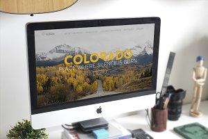 Colorado Landingpage (PSD)