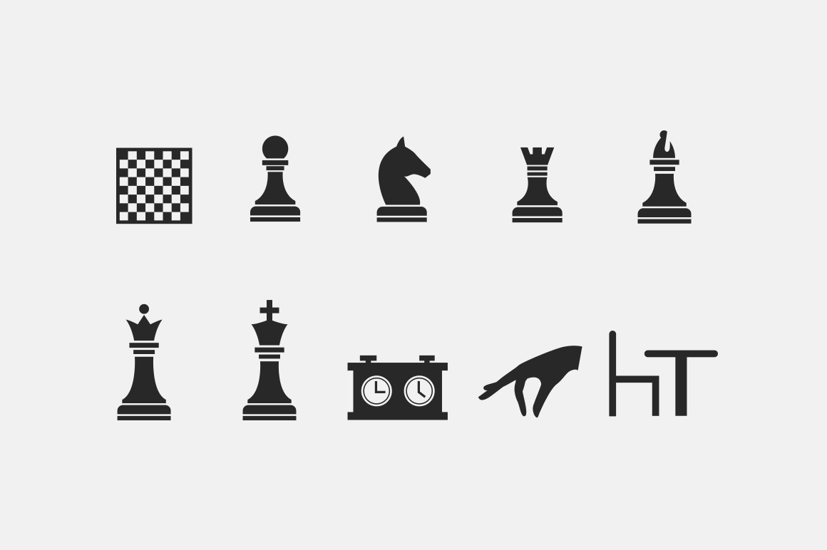 15 chess icons icons creative market biocorpaavc Gallery