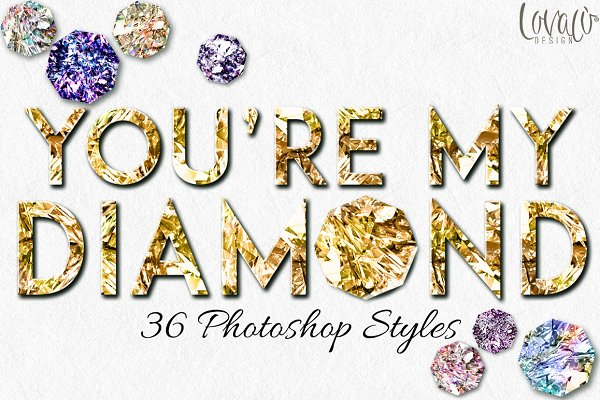 You're my Diamond - 36 styles