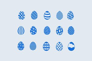 15 Easter Egg Icons