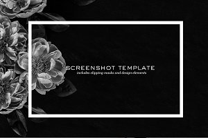 PSD | Creative Screenshot Templates
