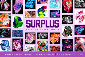 Surplus, Vol 2: 32 Paint Textures