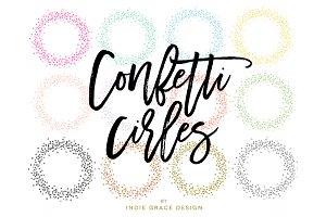 Confetti Circle Colors & Metallics