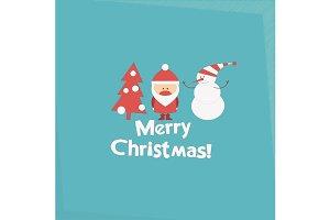 Santa Claus and Snowman