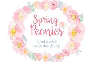 Spring Peonies