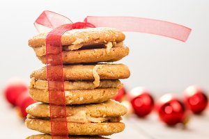Holiday cookies or biscuits