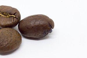 Three Coffee Bean Banner