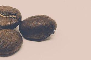 Matte Three Coffee Bean Banner