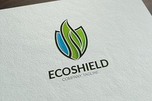 Eco Shield Logo Template