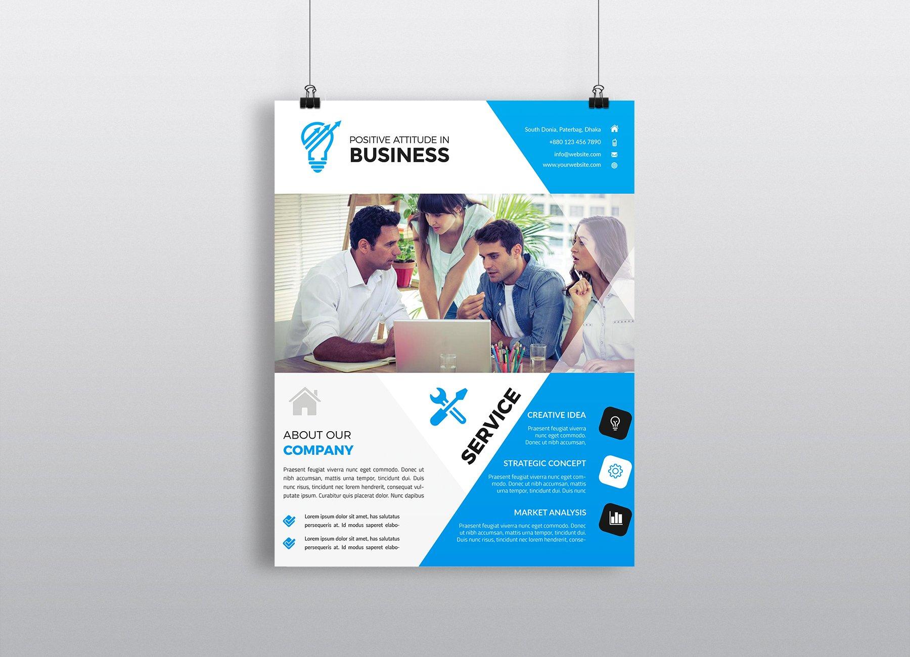 business brochures templates - business flyer template flyer templates creative market