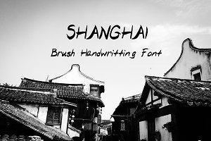 Shanghai - Brush Handwritten Font