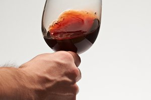 Elegance red wine