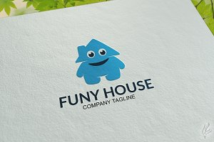 Funy House - Logo Template