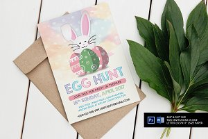 Watercolor Easter Invitation