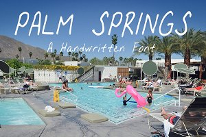 Palm Springs - Handwritten Font