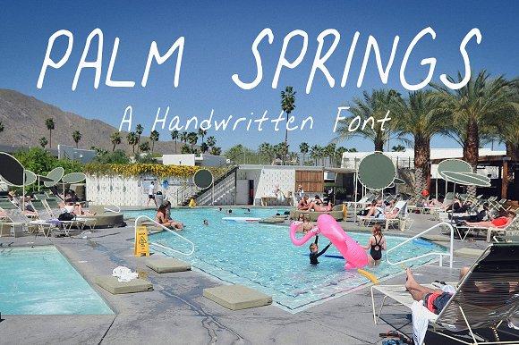 Palm Springs Handwritten Font
