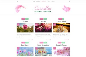 Camellia Minimal WordPress Blog